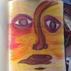 A desert face